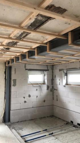 Unterkonstruktion für eine abgehängte Decke