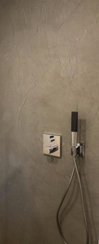 fugenloser Duschbereich mit Mikrozement